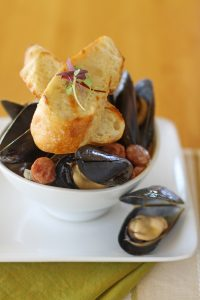 Mussels from Hali'imaile General Store. Courtesy photo.