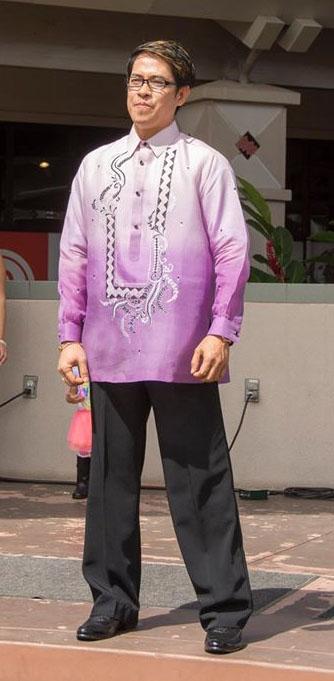 Filipino cultural attire. Photo courtesy of Kit Zulueta.