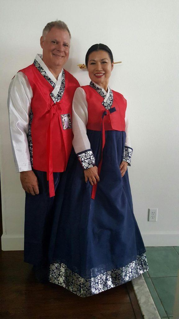 Korean cultural attire. Photo courtesy of Kit Zulueta.