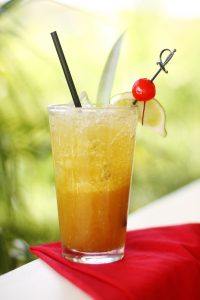 Cocktail known as the TaiMai from Hali'imaile General Store. Courtesy photo.