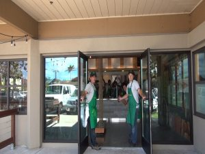 Owners open the doors at Fork & Salad in Kīhei. Courtesy photo.