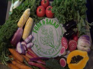 Fork & Salad prides itself on fresh ingredients from local farms and producers. Courtesy photo.