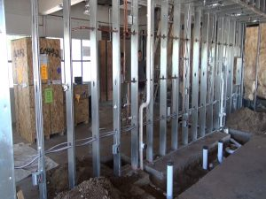 The beginning phases of construction at Fork & Salad Maui. Courtesy photo.