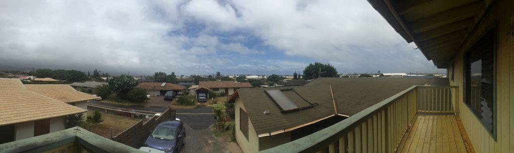 Maui Darby impacts 12:50 p.m. 7.23.16. Photo credit: Arlene Hill