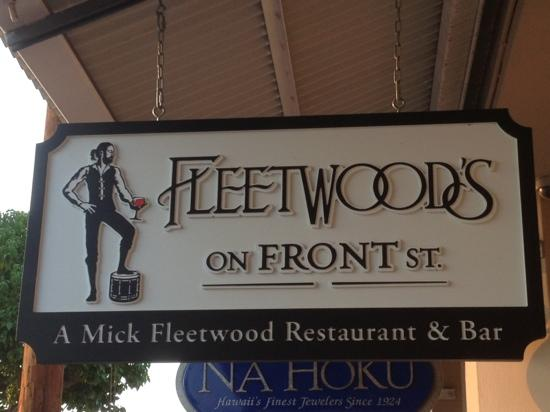 Lahaina Restaurant Fleetwood's on Front St. Hopes to Reopen Oct. 15