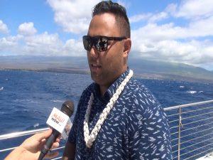 Maui Ocean Center cultural advisor Dane Maxwell. Photo by Kiaora Bohlool.
