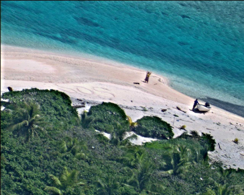 EAST FAYU ISLAND, MICRONESIA, FEDERATED STATES OF 08.25.2016 Courtesy Photo Commander, Pacific Fleet