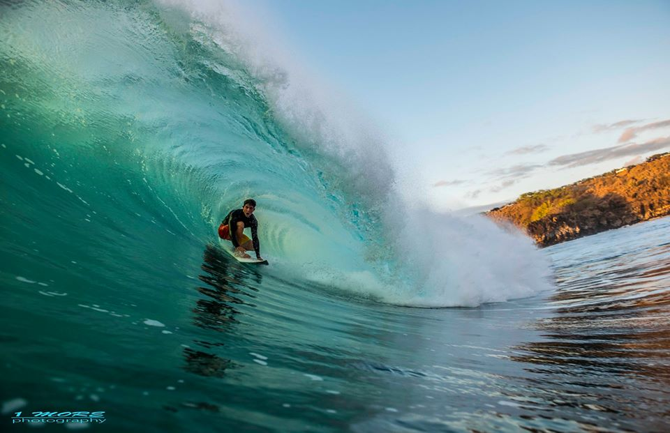 Mahana Eleogram on a clean one at Honolua Photo: OneMore Photography