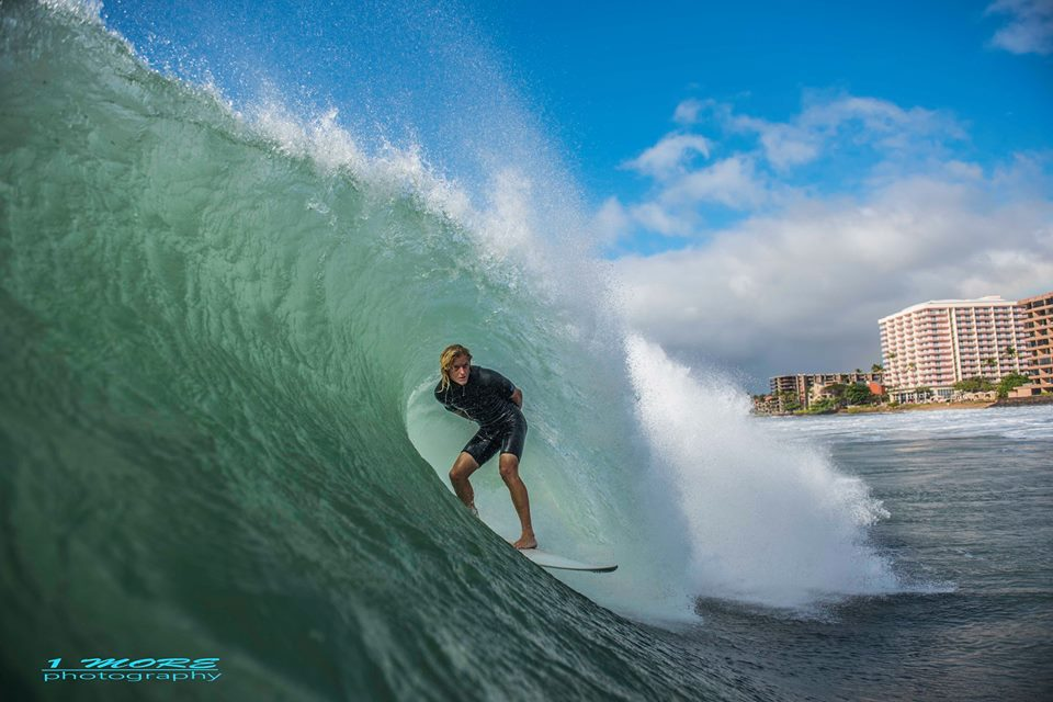 Luke Nils Adolfson finds the sweet spot on the westside Photo: OneMore Photography
