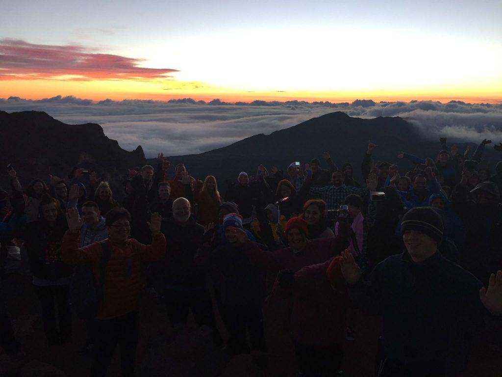Centennial sunrise. Photo courtesy Haleakalā National Park.