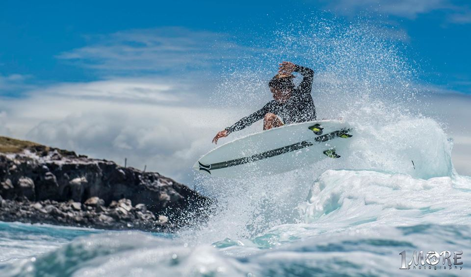 Kelson Lau off the top at Turtle Bay Photo: OneMore Photography