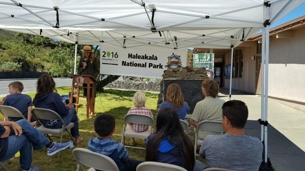 Haleakalā Centennial celebration. Photo courtesy Haleakalā National Park.