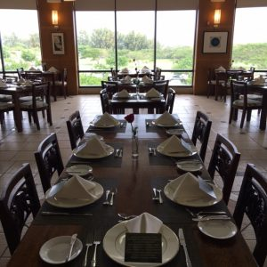 Leis Family Class Act dining room at UH Maui. Courtesy photo.