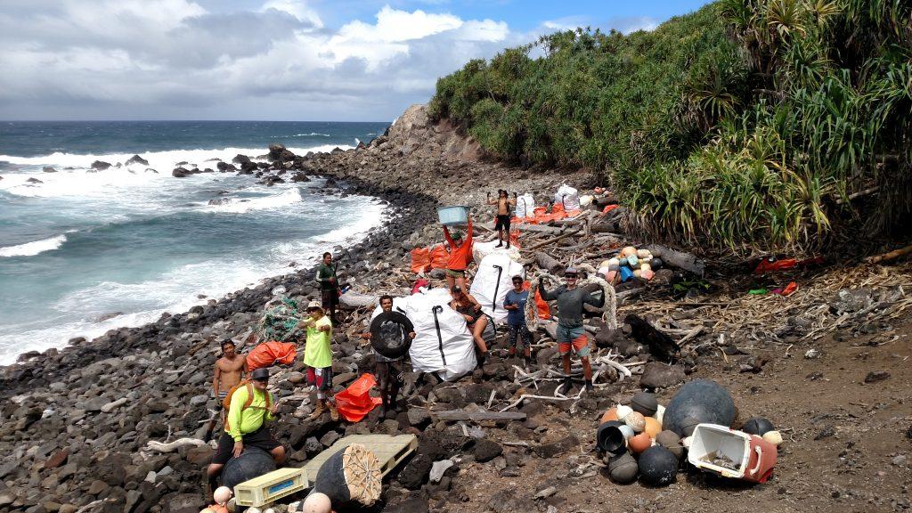 DLNR TNC NPS and Sustainable Coastlines Volunteers
