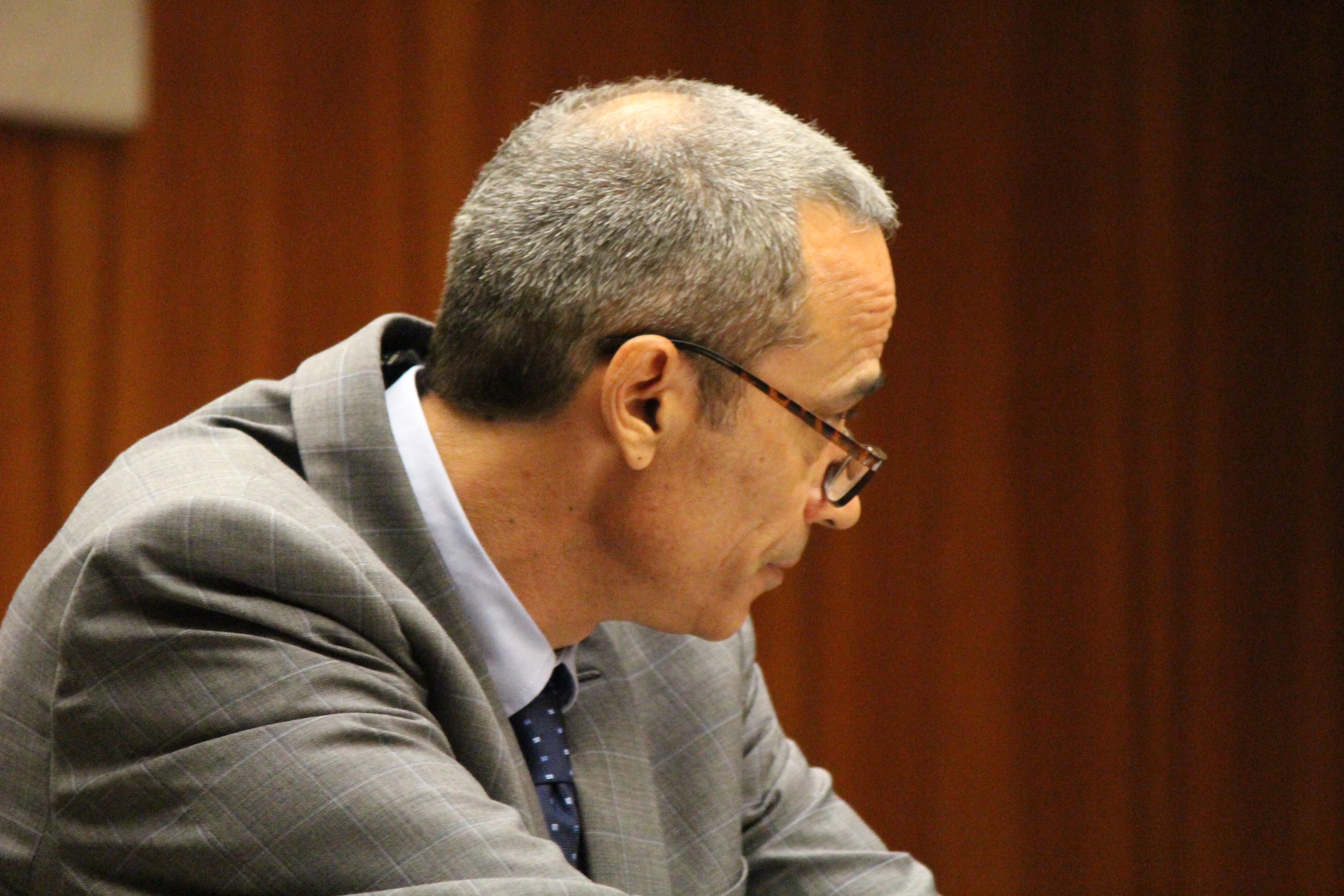 Capobianco's defense attorney Jon Apo. Photo by Wendy Osher.
