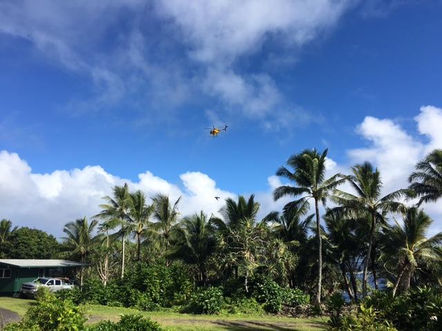 Fisherman rescue from Waiʻānapanapa. PC: Jeremy at Timber Creations Maui