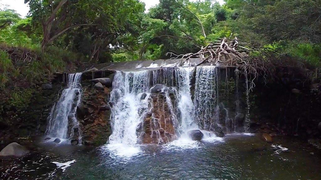 Waterfall in Wailuku River (ʻĪao Stream), courtesy Bob Horcajo.