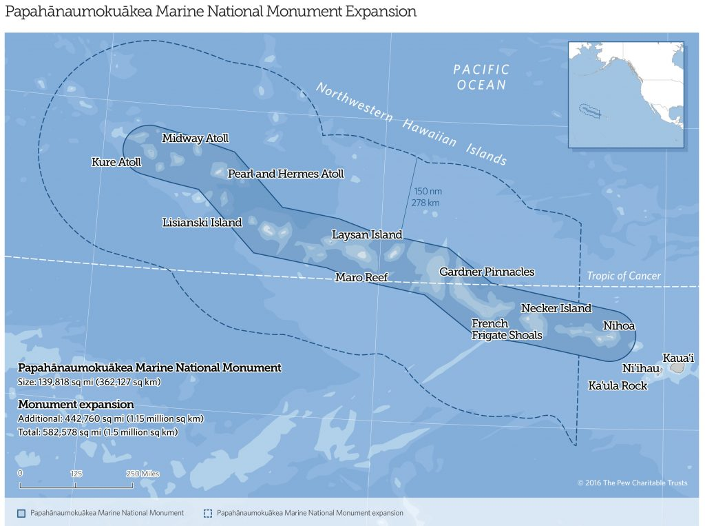 On Friday, President Obama will expand the Papahānaumokuākea Marine National Monument off the coast of Hawaii, creating the world's largest marine protected area.