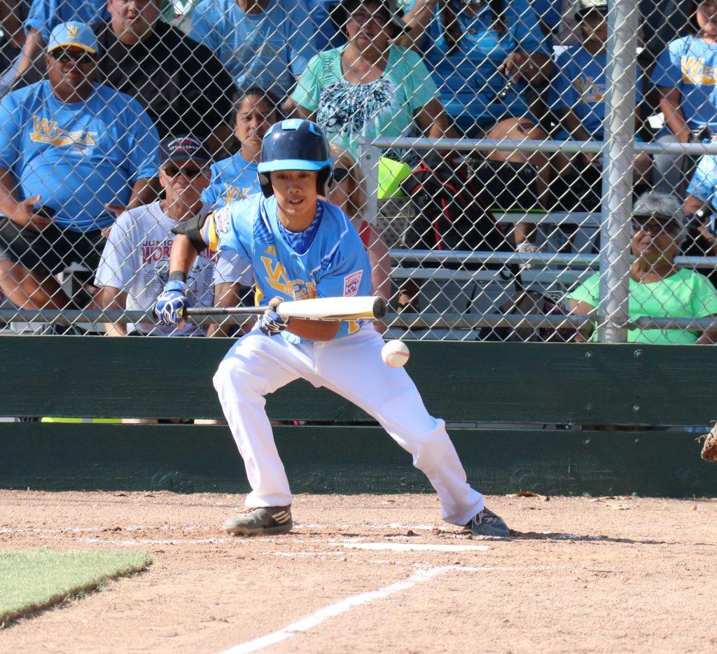 Dawson Tokishi. Central Maui Little League Intermediate (13U) All-Star team. Photo credit: Trevor Tokishi