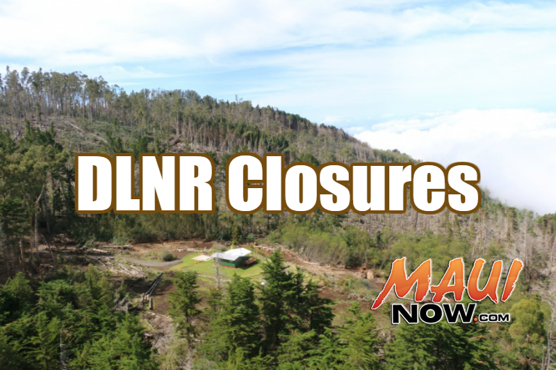 DLNR closures. File image of Polipoli on Maui.