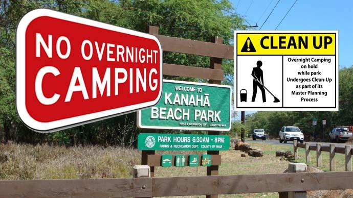 Kanahā clean-up.