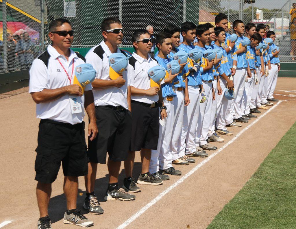 Central Maui Little League Intermediate (13U) All-Star team. Photo credit: Trevor Tokishi