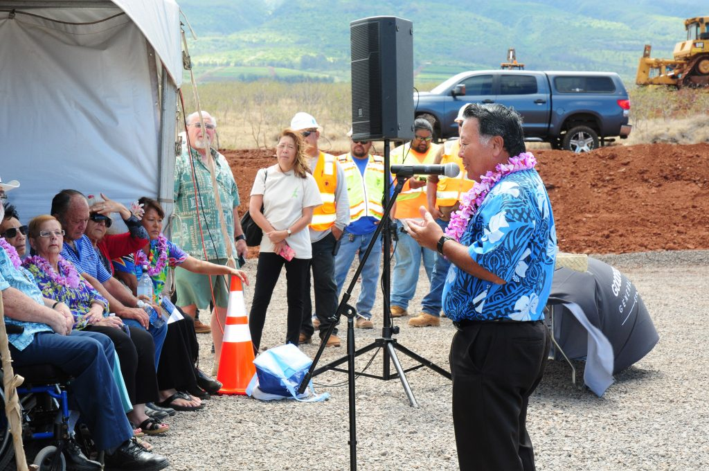 Maui Mayor Alan Arakawa expressed the County's excitement over the new hospital project which ushers in a new era of healthcare for West Maui.