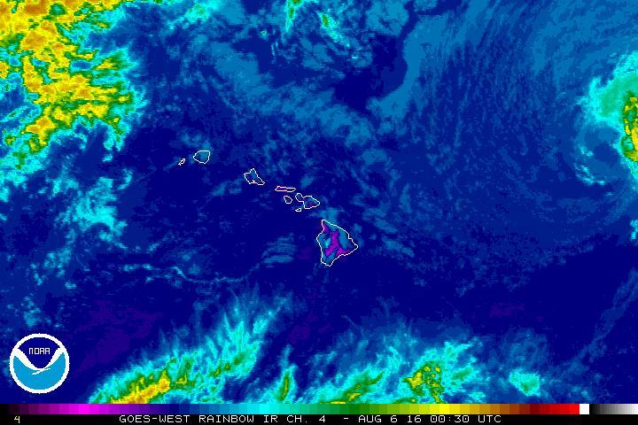 Satellite imagery 8.5.16. Courtesy: NOAA/NWS.