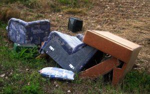 trash garbage dumping