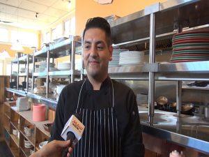 Hali'imaile General Store Executive Sous Chef Adrian Solorzano. Photo by Kiaora Bohlool.