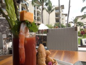Bloody Mary with brunch at Cane & Canoe. Photo by Kiaora Bohlool.