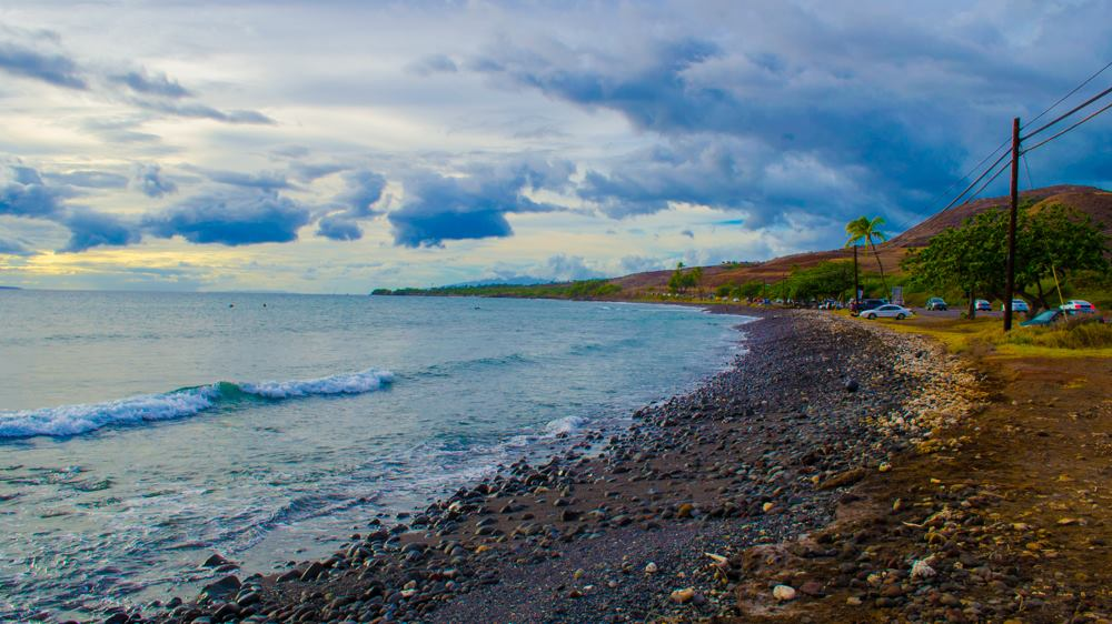 Shoreline at Olowalu. PC: Asa Ellison