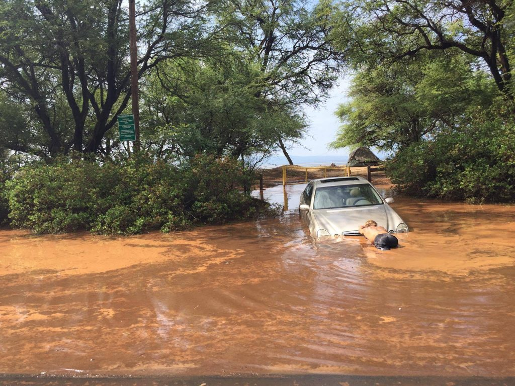 West Maui flooding PC: 9.14.16 by Brenda Brinkley Carpenter