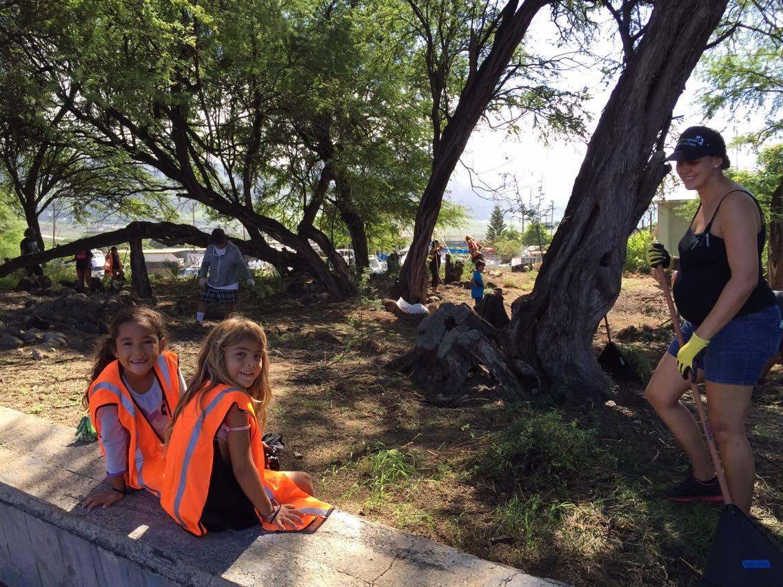 Lahaina Town Clean Up PC: Matt Lane