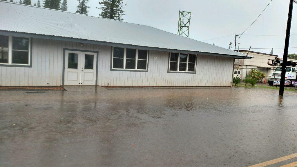 Lānaʻi flood photo 9.14.16 courtesy Jason Fabrao.