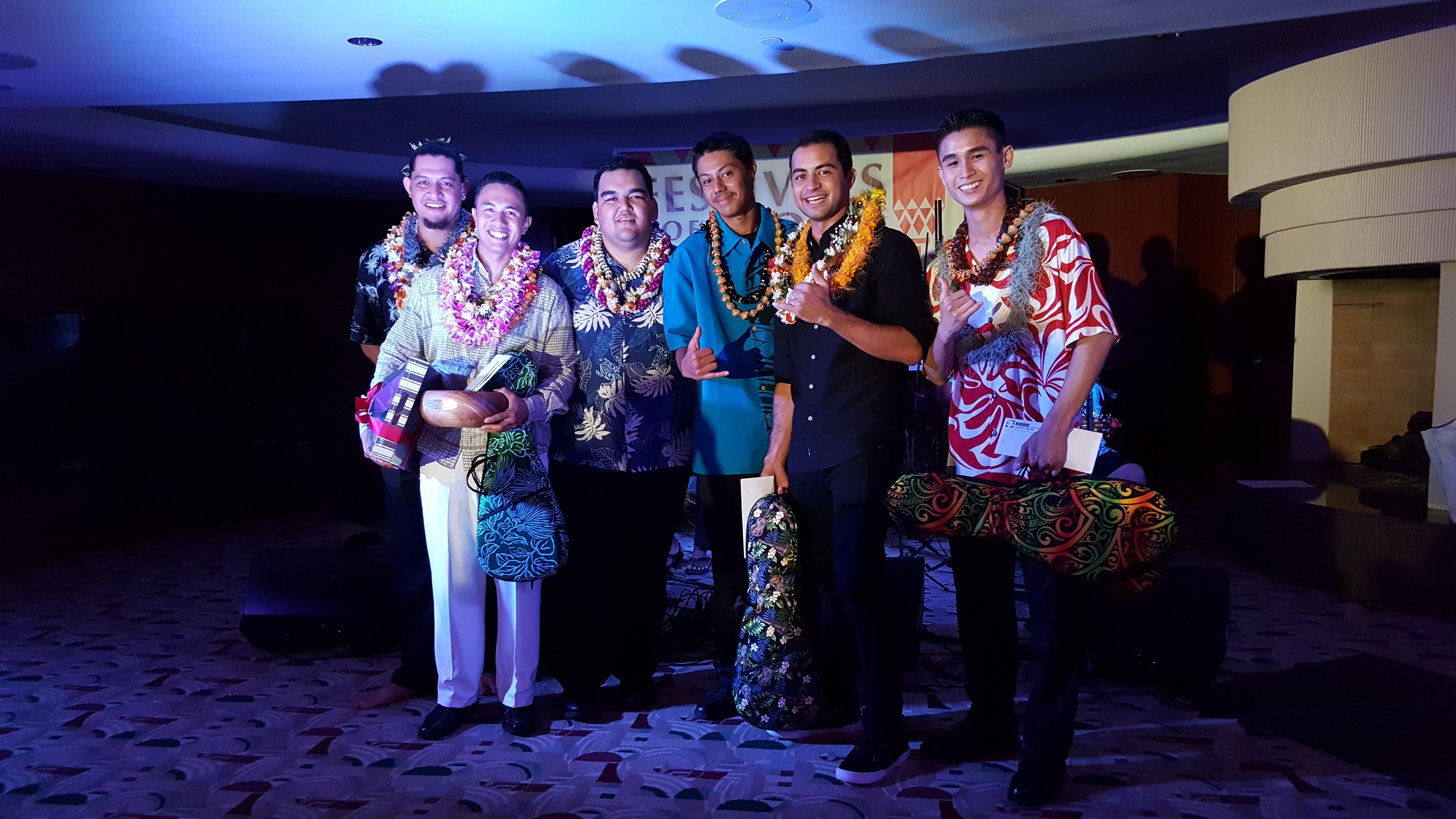 15th Richard Hoʻopiʻi Leo Kiʻekiʻe Falsetto Contest.  PC: Daryl Fujiwara