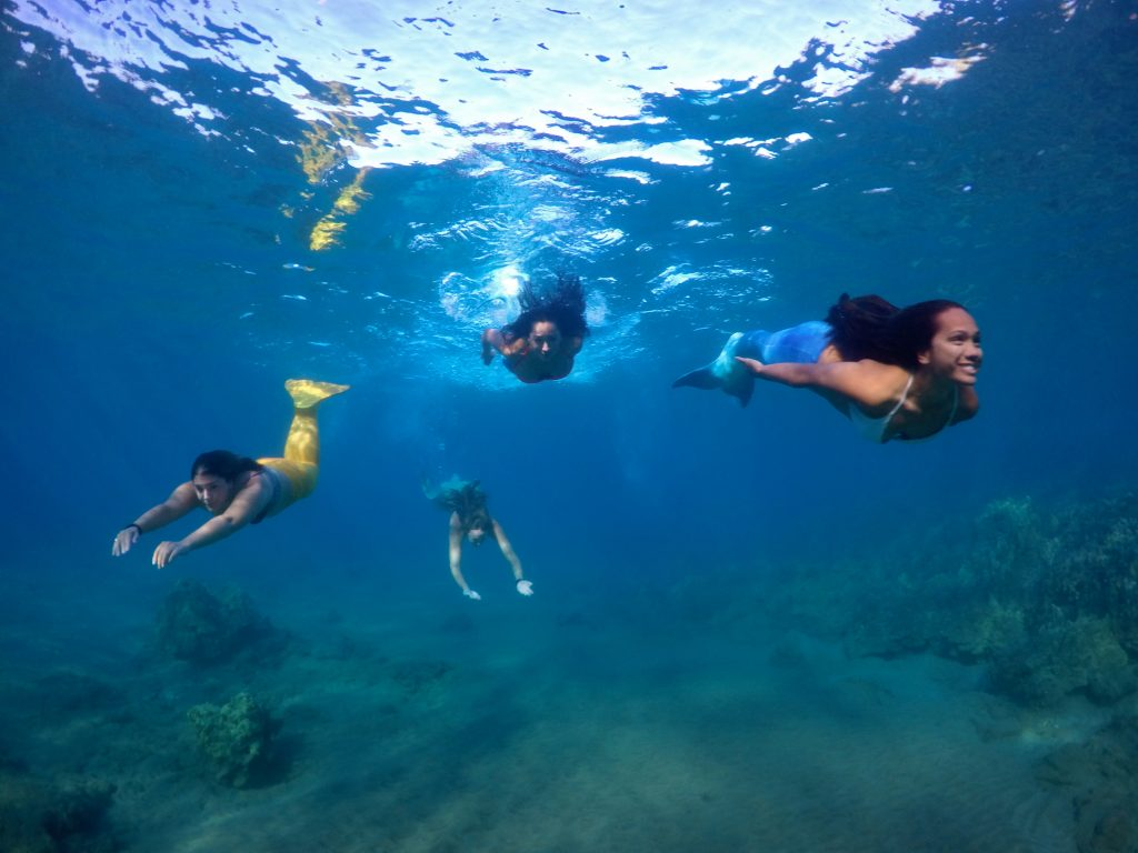 Hawaiʻi Mermaid Adventures Transforms Guests into Mythical Creatures