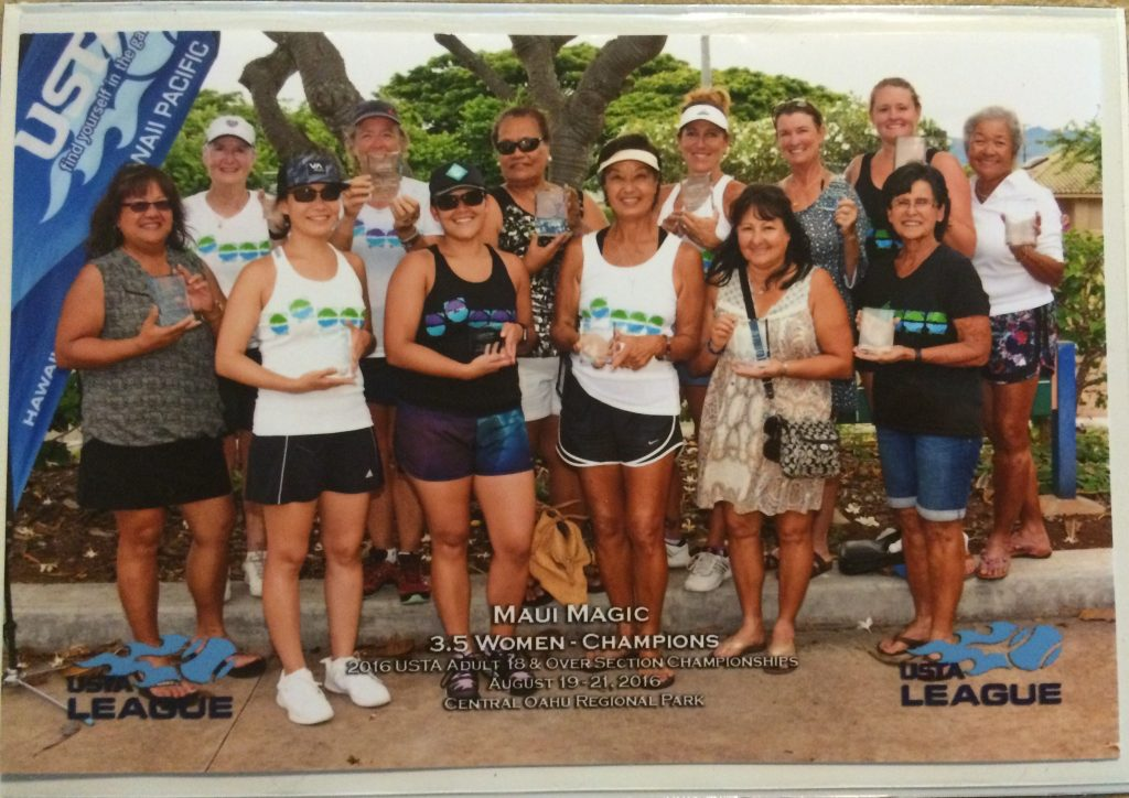 USTA state champs, the Maui Magic team based in Wailuku. Courtesy photo.