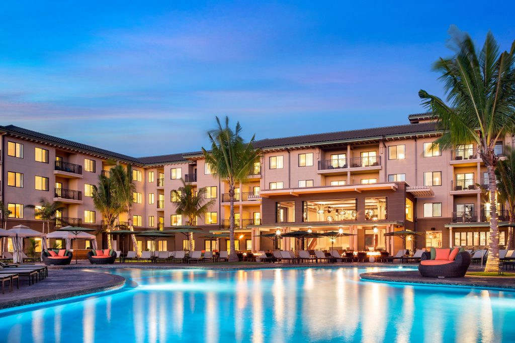 Wailea's new Residence Inn by Marriott. This marks the first Residence Inn by Marriott on the Hawaiian Islands.