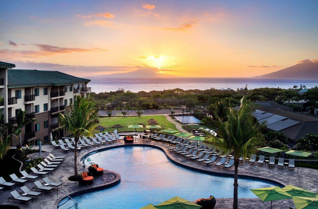 Wailea's new Residence Inn by Marriott. This marks the first Residence Inn by Marriott on the Hawaiian Islands.
