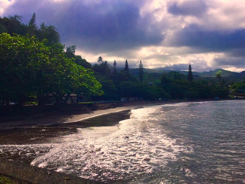 Hāna Bay after. Photo credit: Tuks Medeiros.