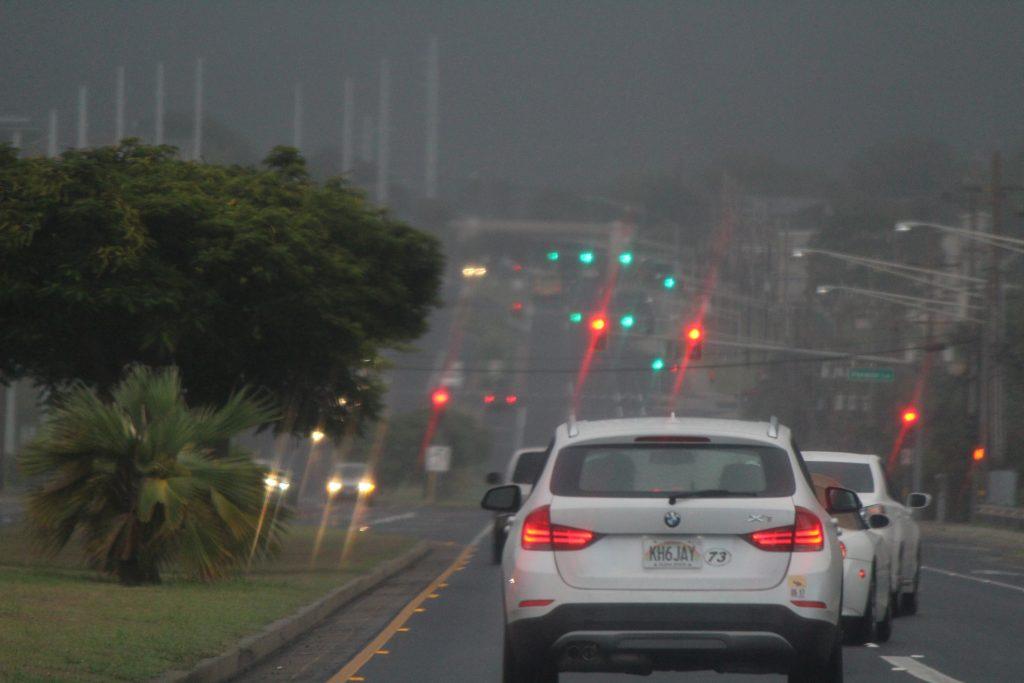 Pre-Lester rain, 9.2.16 Kahului, Maui.