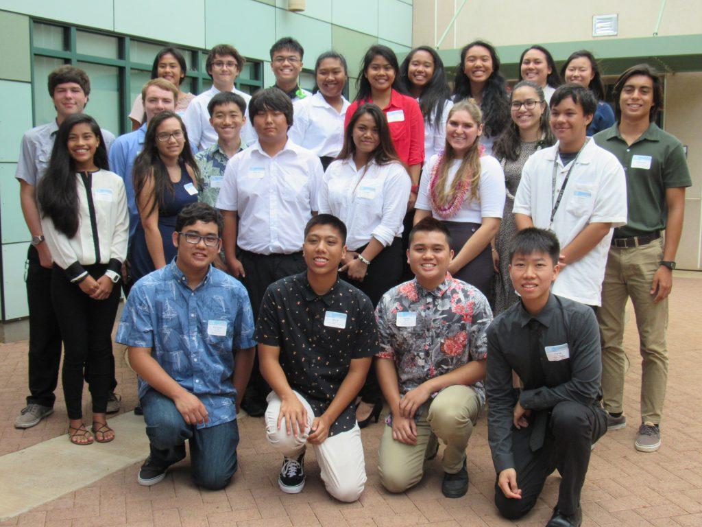 Group Photo. Image courtesy: STEMWorks/Maui Economic Development Board.