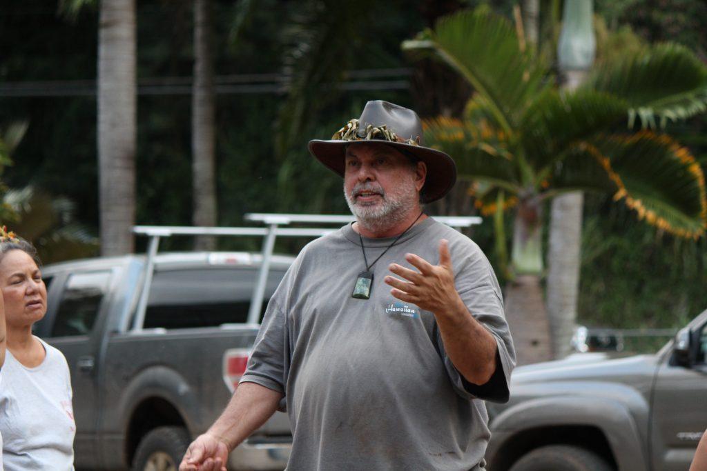 Allan Ornellas, ʻĪao Valley resident.