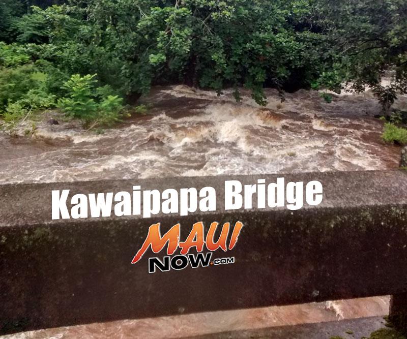 PC: Kawaipapa Bridge in East Maui 9.13.16. Lehua Cosma - Hāna, Maui.