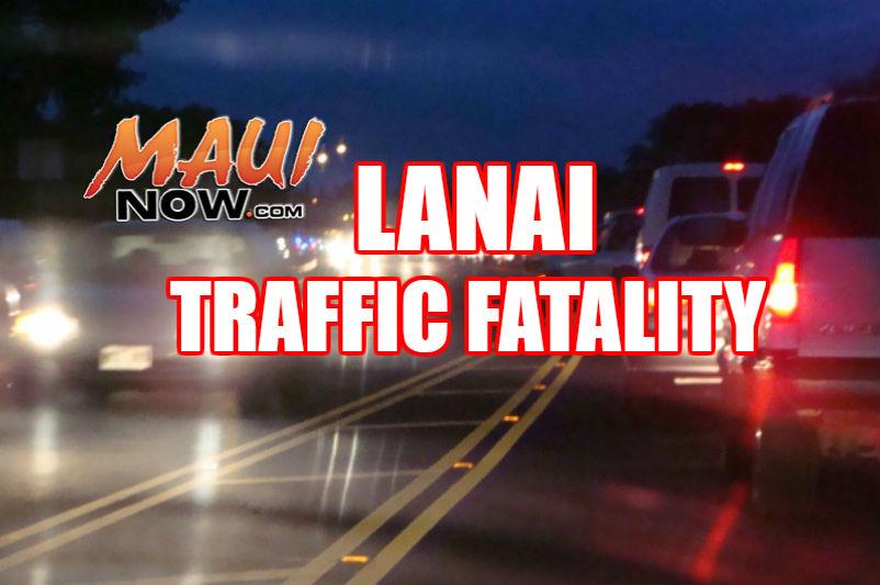 Lānaʻi traffic fatality graphic.