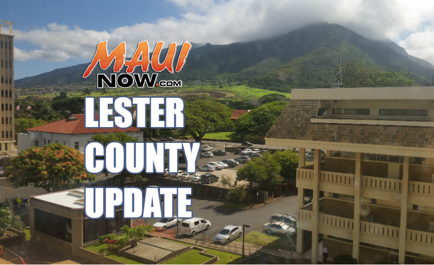 Lester. County update.