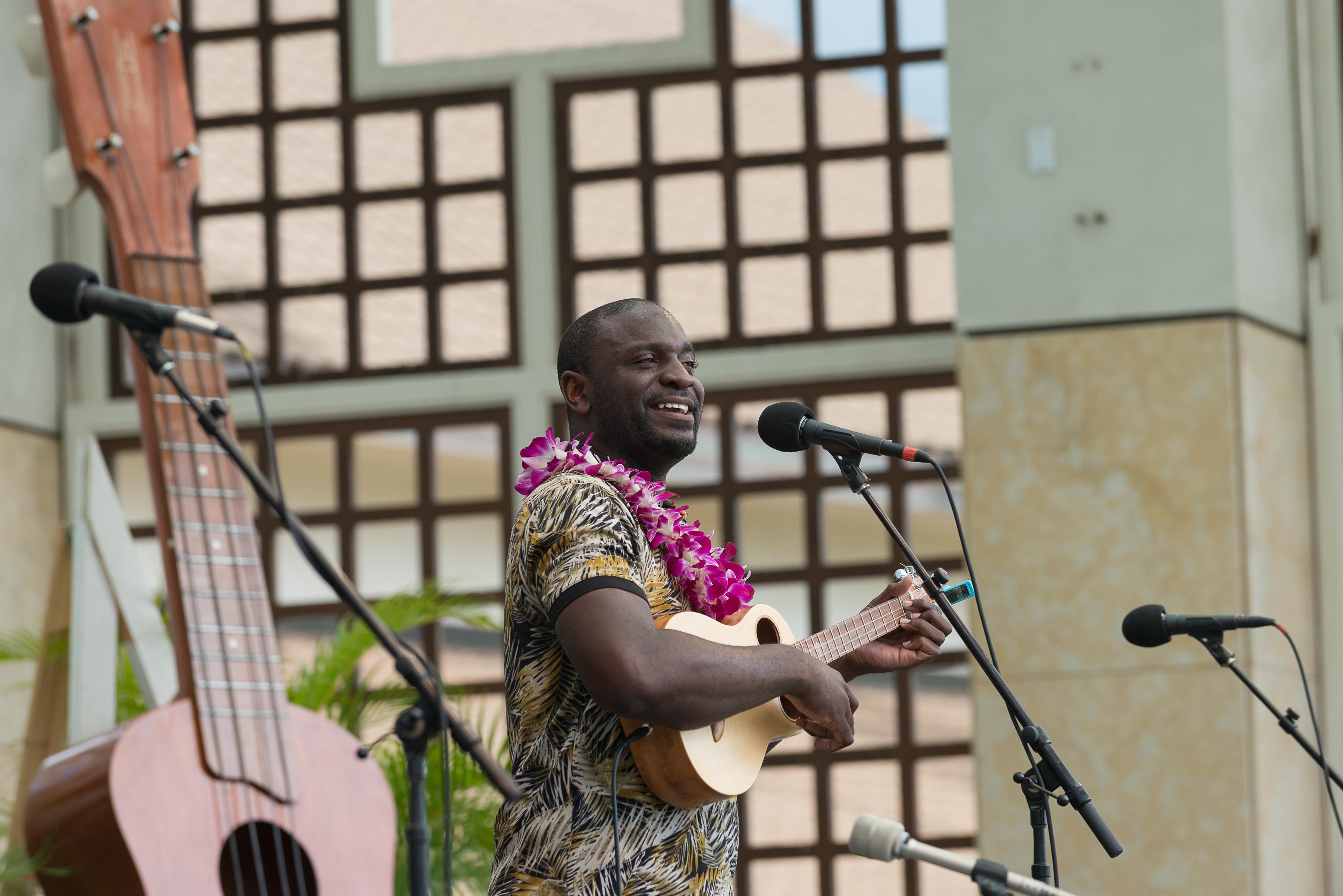 11th Annual Maui 'Ukulele Festival. PC: Kamakakehau Fernandez, credit Aubrey Hord Photography.