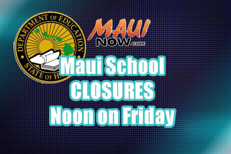 Maui School Closures