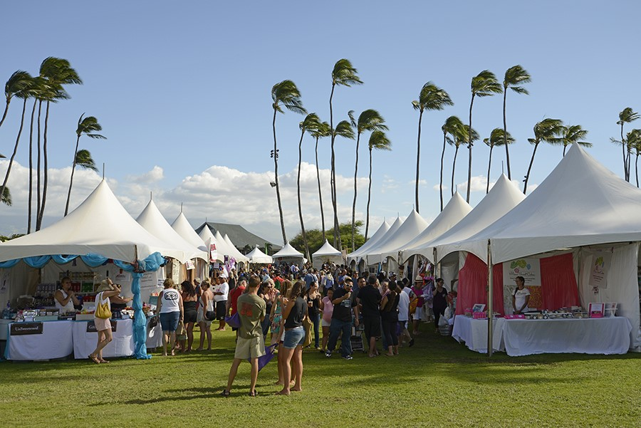 Maui County's largest products show, the annual Made in Maui County Festival, will open to the public on November 4 and 5, 2016 at the Maui Arts & Cultural Center in Kahului. Over 140 vendors will offer a bevy of Made-In-Maui-County products. Additionally, on Saturday (Nov. 5), 11 of Maui's popular food trucks will be featured in the event's Food Court. Courtesy photo: County of Maui